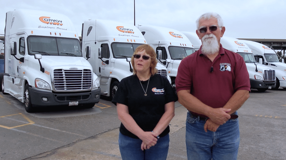convoy trucking employees